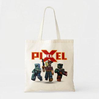 Epische Trio-Tasche Pixelfield Spiel-| Tragetasche