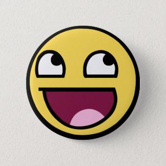 Epischer Gesichts-Knopf Runder Button 5,1 Cm