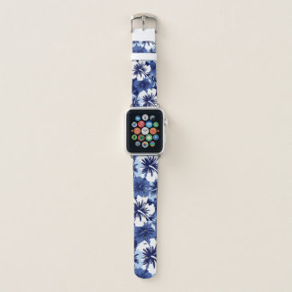 Epischer Hibiskus-hawaiisches BlumenAloha Apple Watch Armband