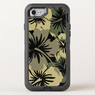 Epischer Hibiskus-hawaiisches BlumenAloha OtterBox Defender iPhone 8/7 Hülle