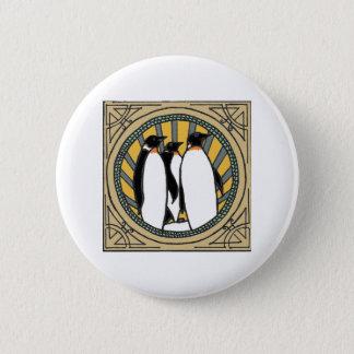 Epischer Pinguin Runder Button 5,7 Cm