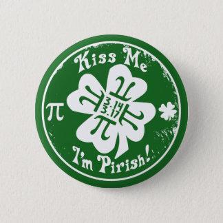 Epischer PU-Tag und St Patrick Tag 2 in 1 Runder Button 5,7 Cm