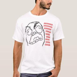Epischer Raserei-Typ T-Shirt