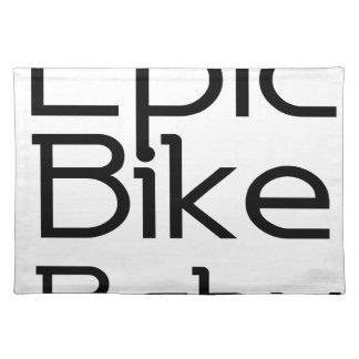Episches Fahrrad-Baby Tischset