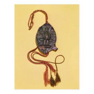 Episkopales Siegel, das Anthony-Kessel gehört Postkarte
