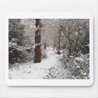 Epping Wald im Schnee Mousepads