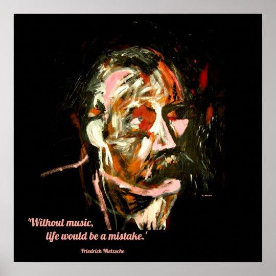 eq Nietzsche Poster