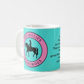 Equiholics einstimmiger englischer Reiter 1 Kaffeetasse