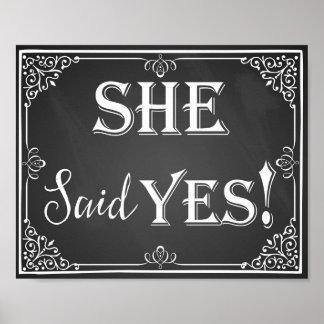 Er fragte sie sagte ja poster