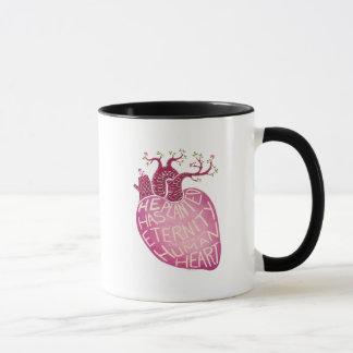 Er hat Ewigkeit im menschlichen Herzen gepflanzt Tasse