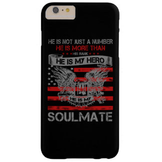 Er ist mein HeldSoulmate Barely There iPhone 6 Plus Hülle