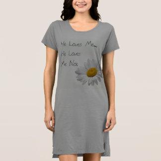 Er Lieben ich, er Lieben ich nicht Kleid
