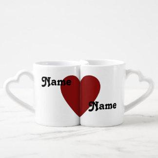 Er Lieben ihr Liebhaber-Tassen-Set Duo-Tassen