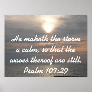 Er maketh der Sturm ein ruhiges… Plakat