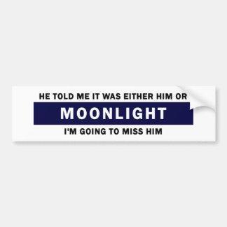 Er oder Mondschein Autoaufkleber