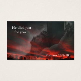 Er starb gerade für Sie… Visitenkarte