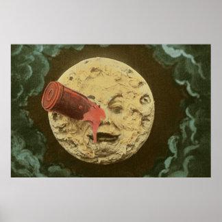 Er voyage dans der lune_Color Poster