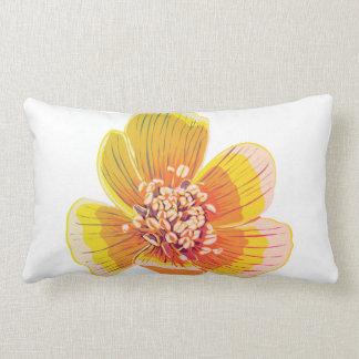Eranthus - Regenbogen-Blume Lendenkissen