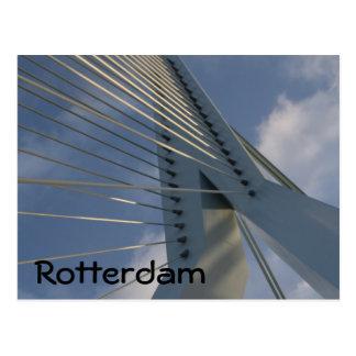 ERASMUS-Brücke, Rotterdam Postkarte