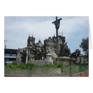 Erbe von Cebu-Monument Karte