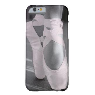Erblassen Sie - rosa Ballett-Schuhe Barely There iPhone 6 Hülle