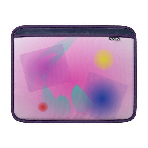 Erblassen Sie - rosa einfache abstrakte Sleeves Fürs MacBook Air