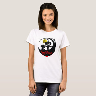 Erblicken Sie, die Vogelscheuche des Jack-O (W) T-Shirt