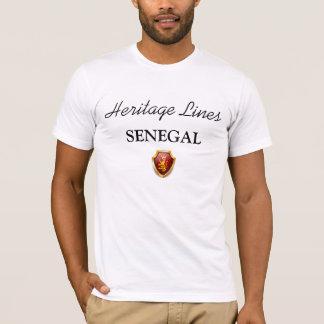Erblinien T - Shirt SENEGAL sublim