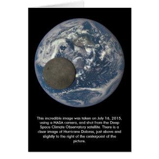 Erd-u. des Mondesweite Seite vom Raum Karte