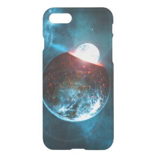Erd-und Mond-zusammenstoßender iPhone 8/7 Hülle