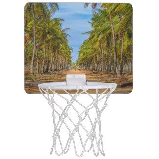 Erdaktuelle Straße Porto Galinhas Brasilien Mini Basketball Netz