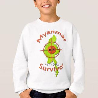 Erdbeben 11-11-2012 Myanmar-Überlebend-6,8 Sweatshirt