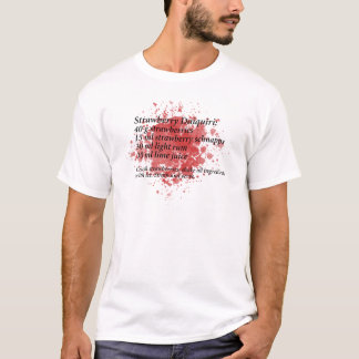ErdbeerDaiquiri - Cocktail-Rezept T-Shirt