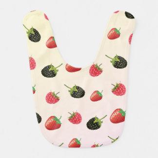Erdbeere, BlackBerry, Himbeere: köstliche Frucht Lätzchen