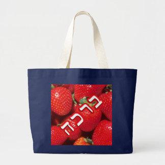 Erdbeere Bracha Jumbo Stoffbeutel