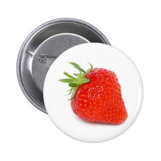Erdbeere Anstecknadel