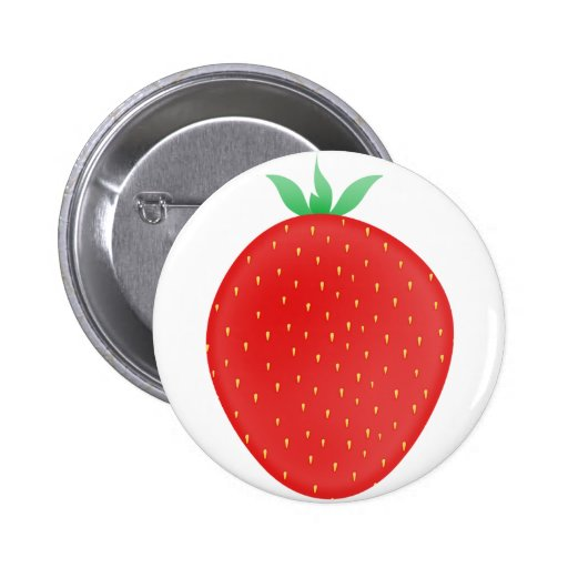 Erdbeere Button
