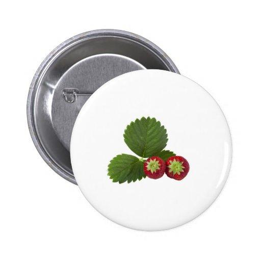 Erdbeere Buttons
