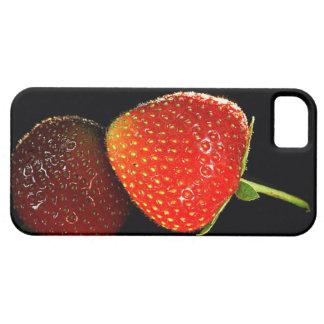 Erdbeere im Spiegel seiner selbst! iPhone 5 Case
