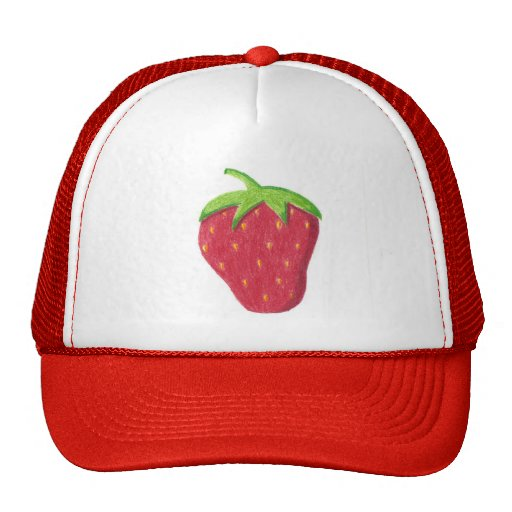 Erdbeere Baseballcap