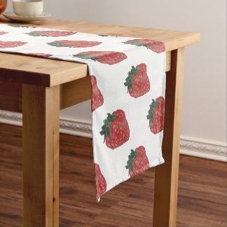 Erdbeere Kurzer Tischläufer