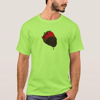 Erdbeere mit Schokolade überzogen T-Shirt