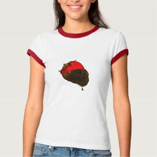 Erdbeere mit Schokolade überzogen T Shirt