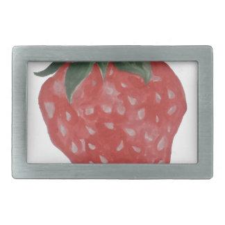 Erdbeere Rechteckige Gürtelschnallen