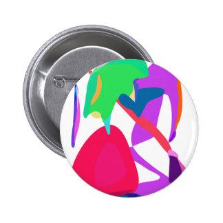Erdbeere Runder Button 5,1 Cm
