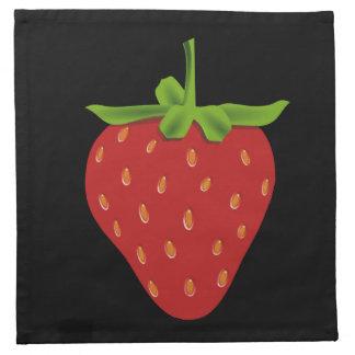 Erdbeere Serviette