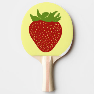 Erdbeere Tischtennis Schläger