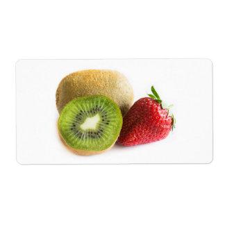 Erdbeere und Kiwi