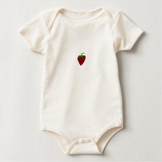 Erdbeerebabygrow Baby Strampler