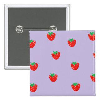 Erdbeeren lila button